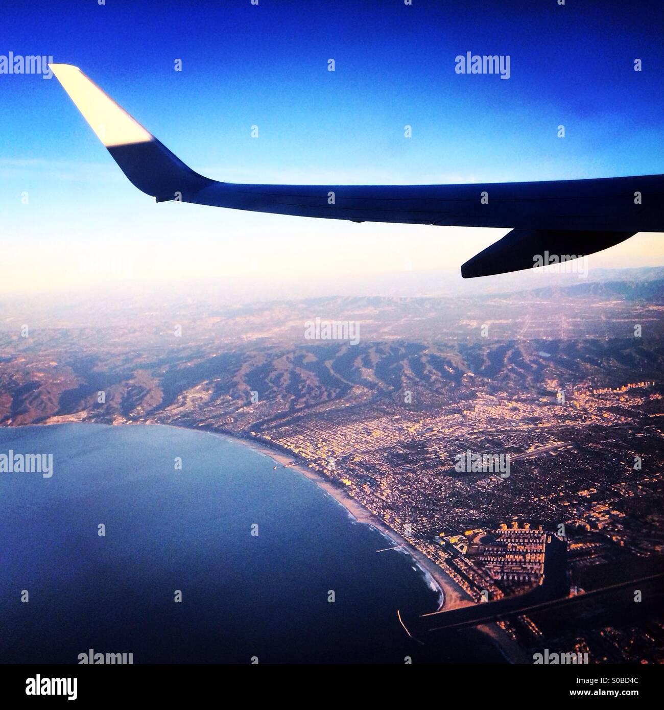 Il viaggio costa della California Immagini Stock