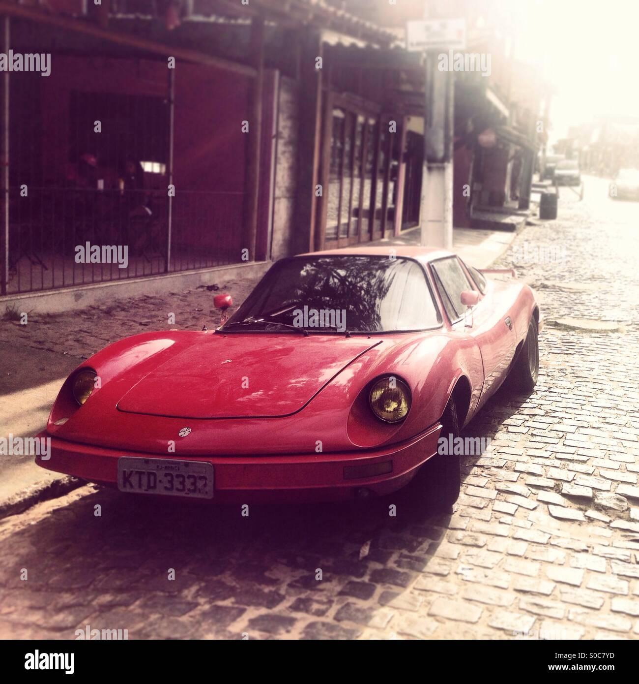 Uno Sport Parcheggio Auto In Strada Di Itacare Brasile Foto