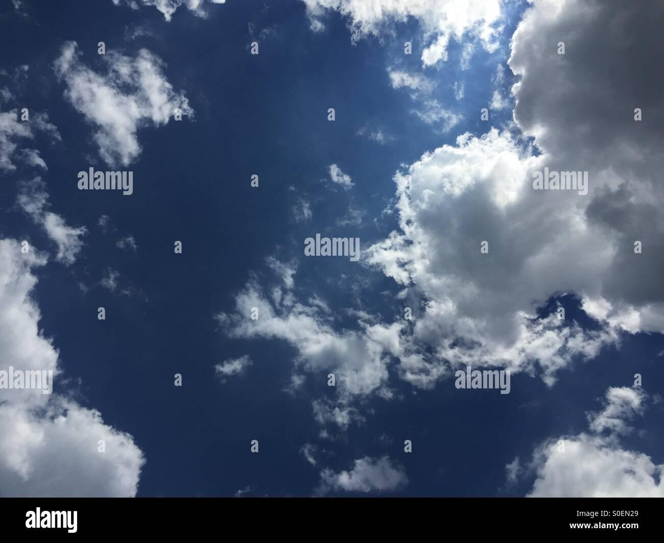 Cielo de verano Immagini Stock