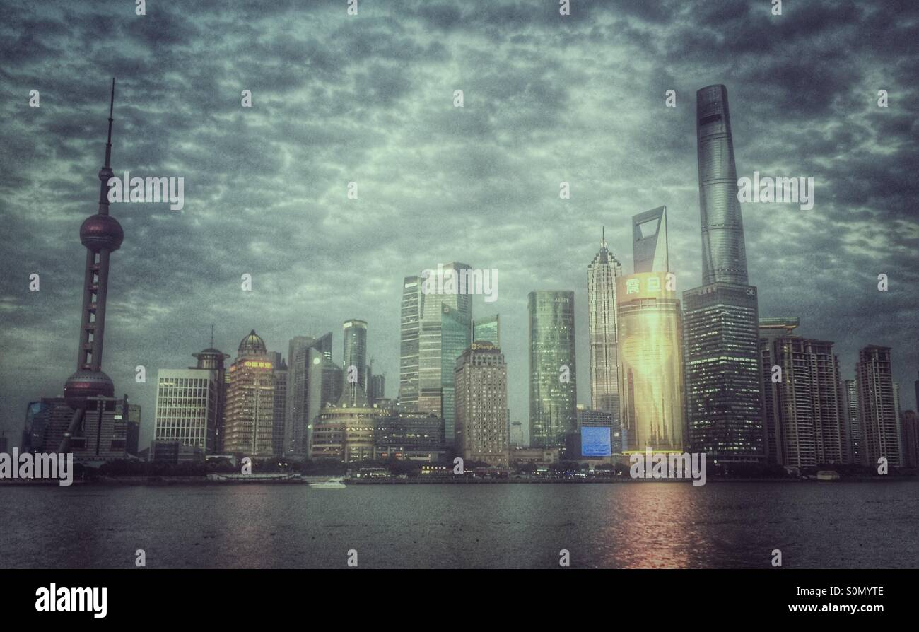 Shanghai Pudong Immagini Stock