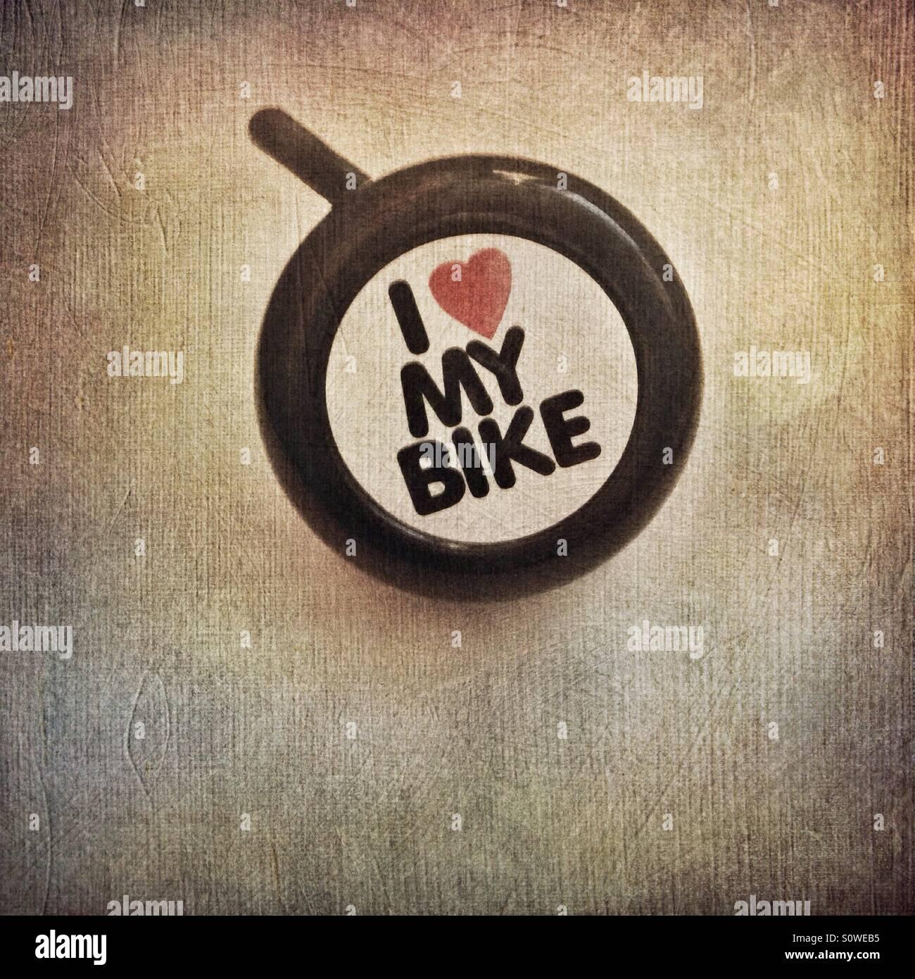 Bici campana Immagini Stock