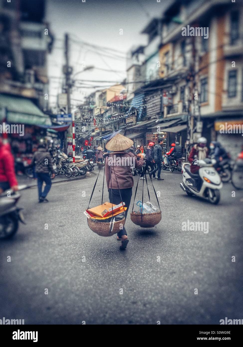 Strada di Vietnam Immagini Stock