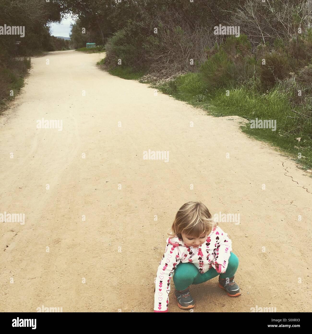 In una passeggiata in un parco di San Diego Immagini Stock