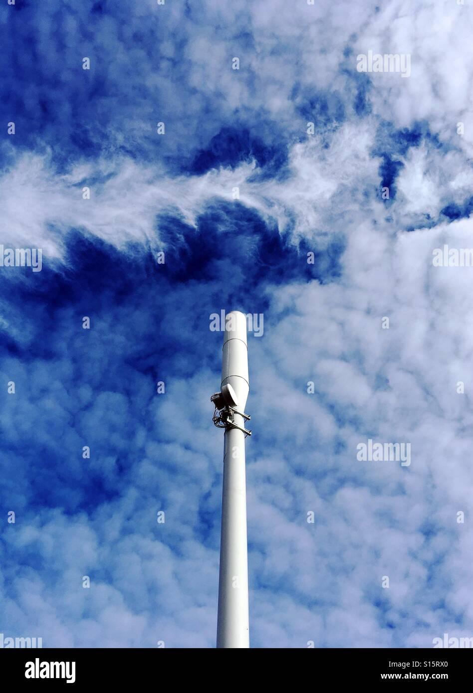 Una Simulazione Di Kodachrome Immagine Di Un Telefono Mobile Il