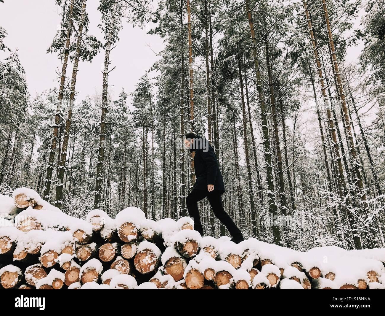 Inverno Foto Stock