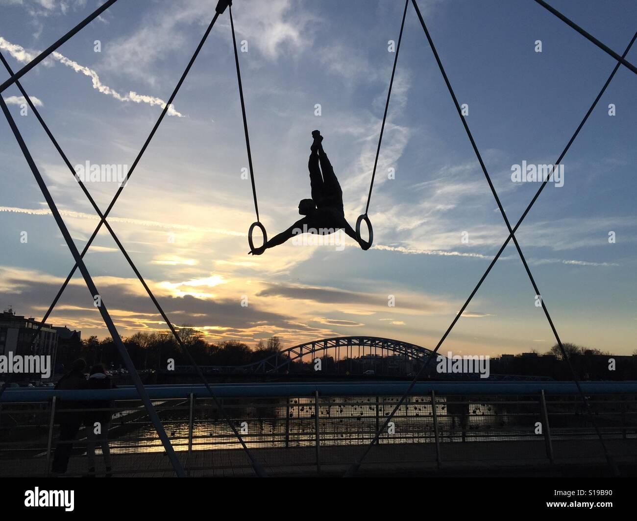 Ponte di Cracovia Foto Stock