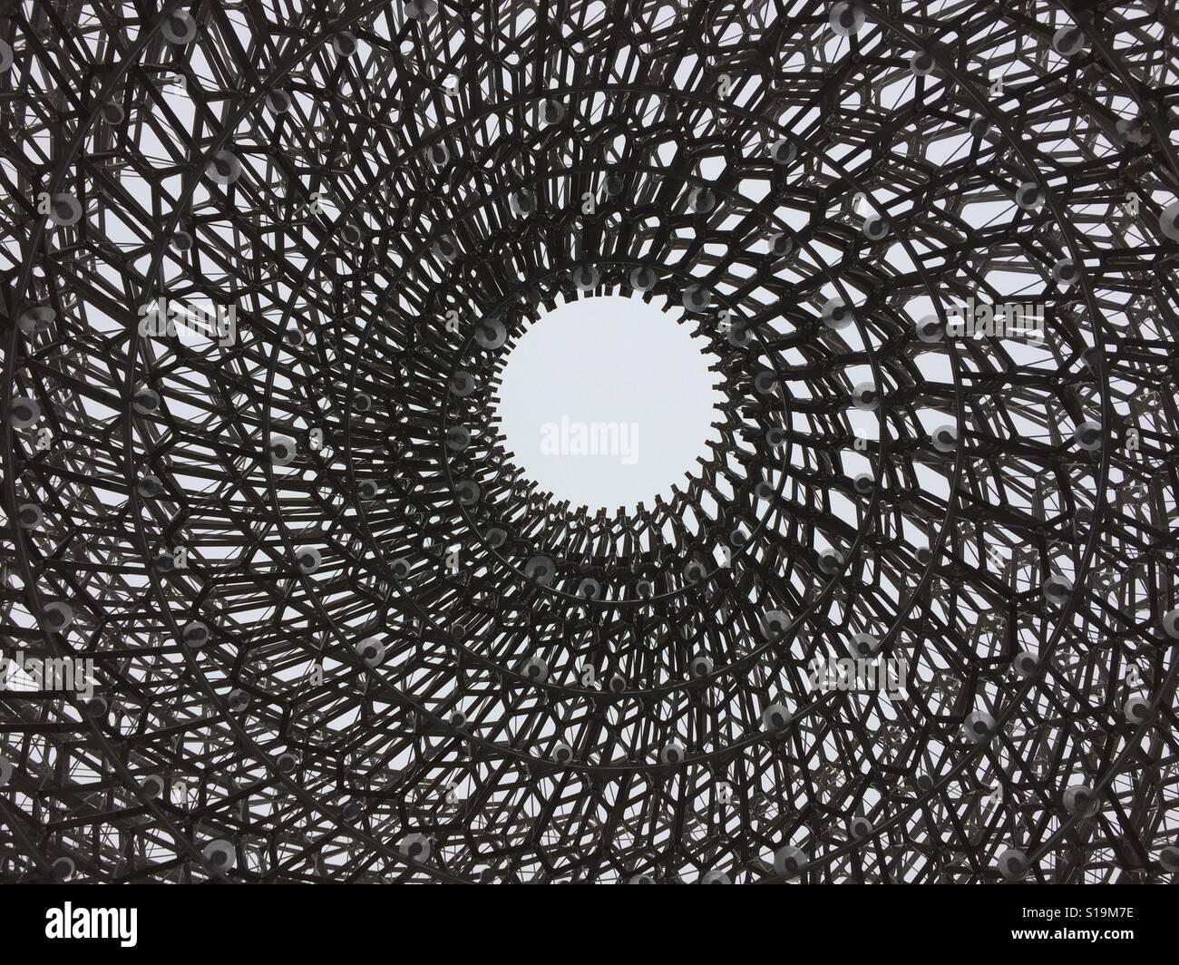 Kew Garden bee struttura Foto Stock