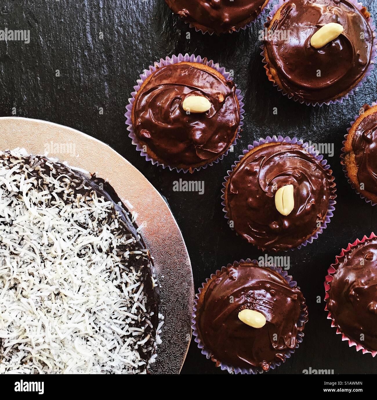 Tempo di torta Immagini Stock