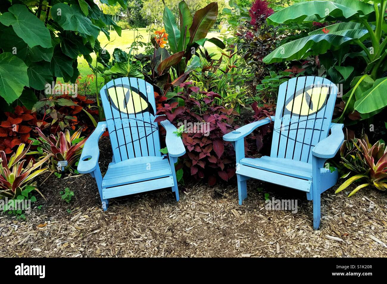 Decorazioni In Legno Per Giardino : Cat eye sedie da giardino in meadowlark giardini vienna virginia