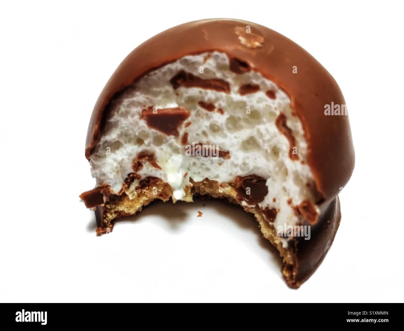 Marshmallow torta di tè Immagini Stock