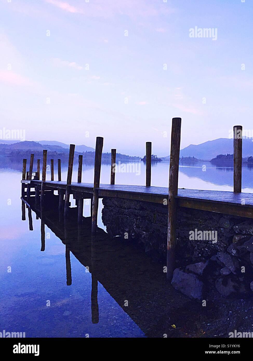 Distretto dei laghi Immagini Stock