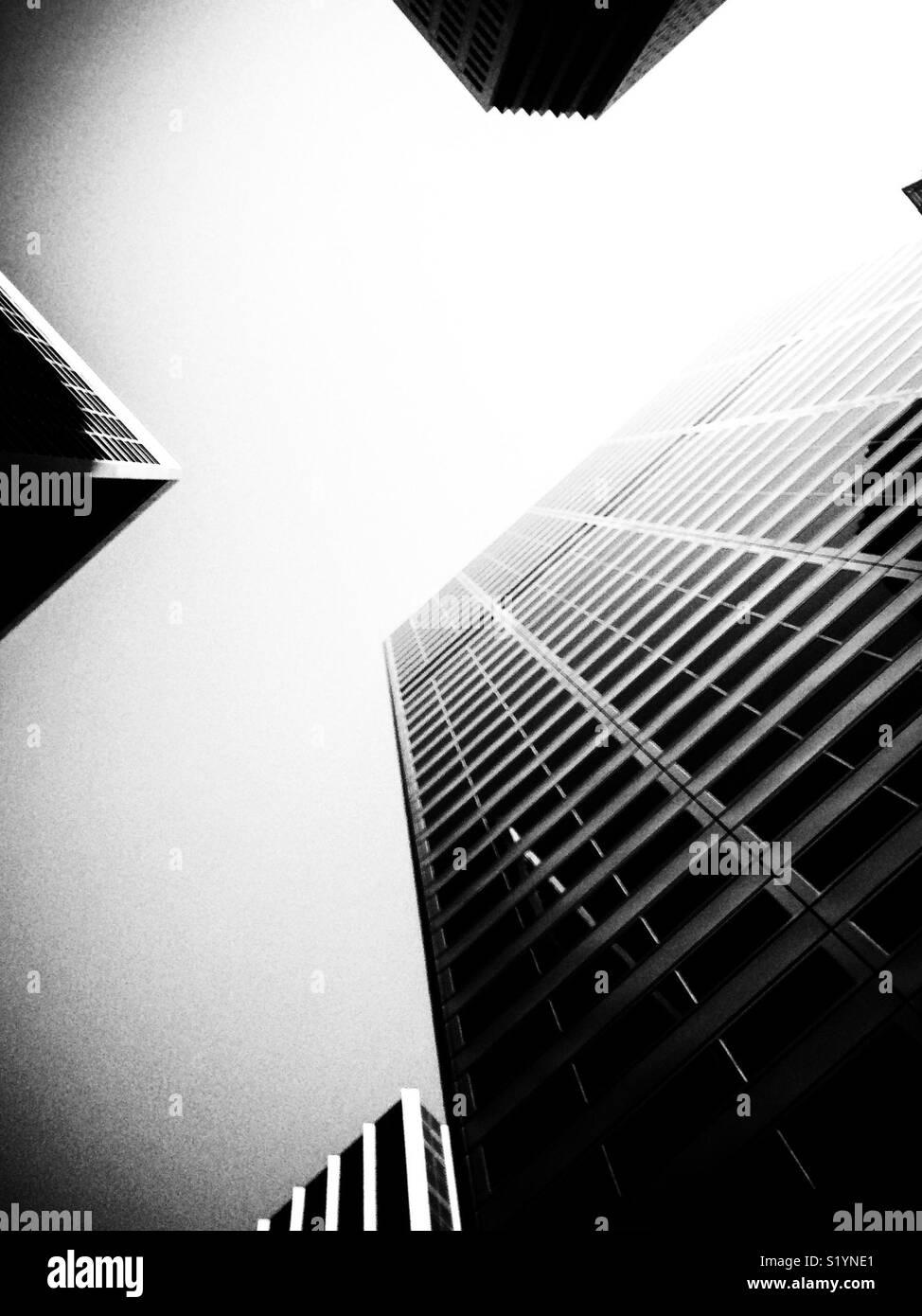 San Francisco skyscrappers, CALIFORNIA, STATI UNITI D'AMERICA Immagini Stock