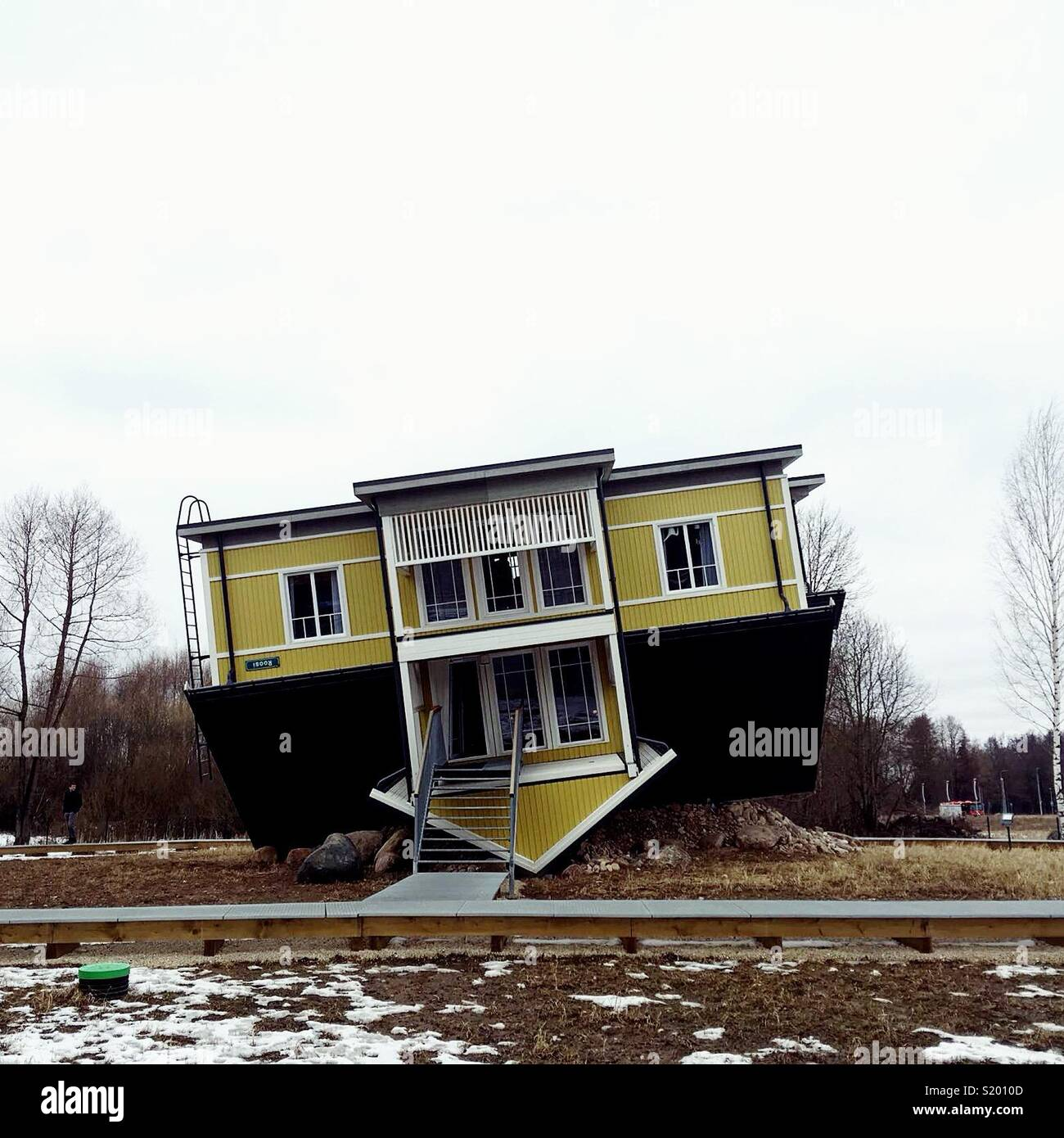 Casa Immagini Stock