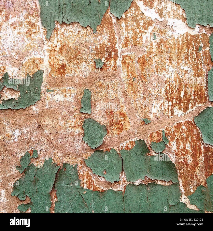 Vecchio muro Immagini Stock