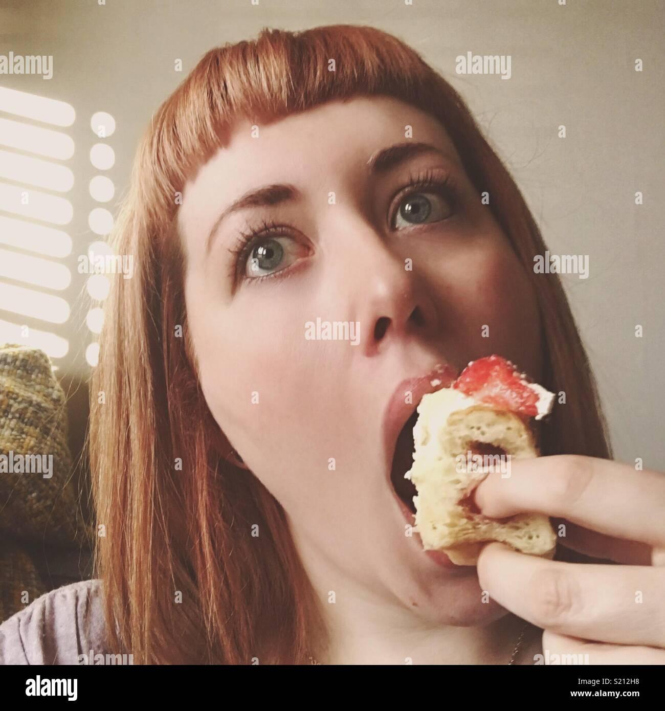 Eat Me Immagini Stock