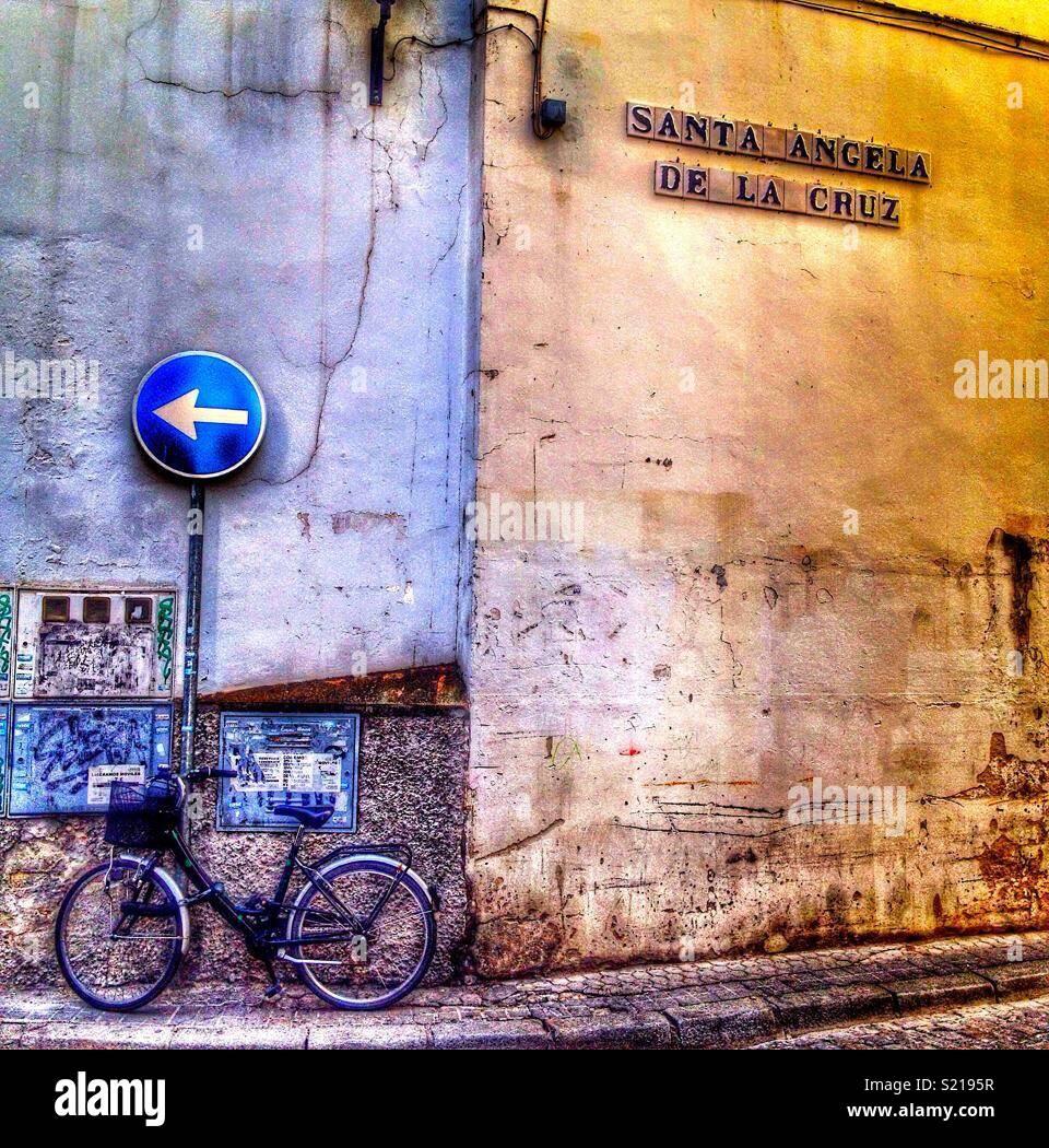 Passerella spagnolo Immagini Stock