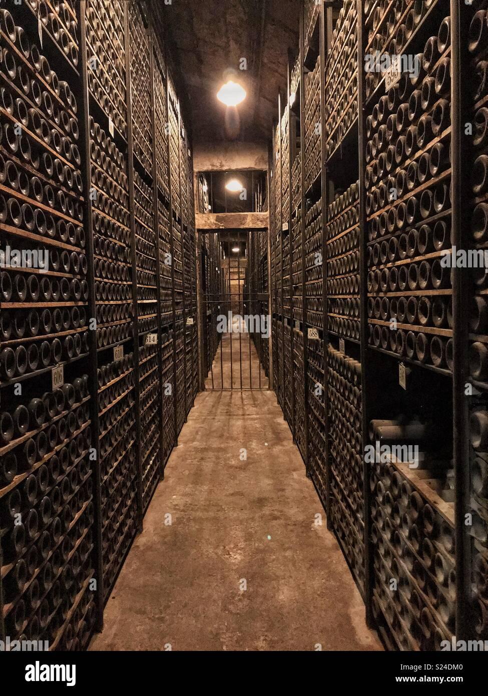 Las Bodegas de La Rioja Immagini Stock