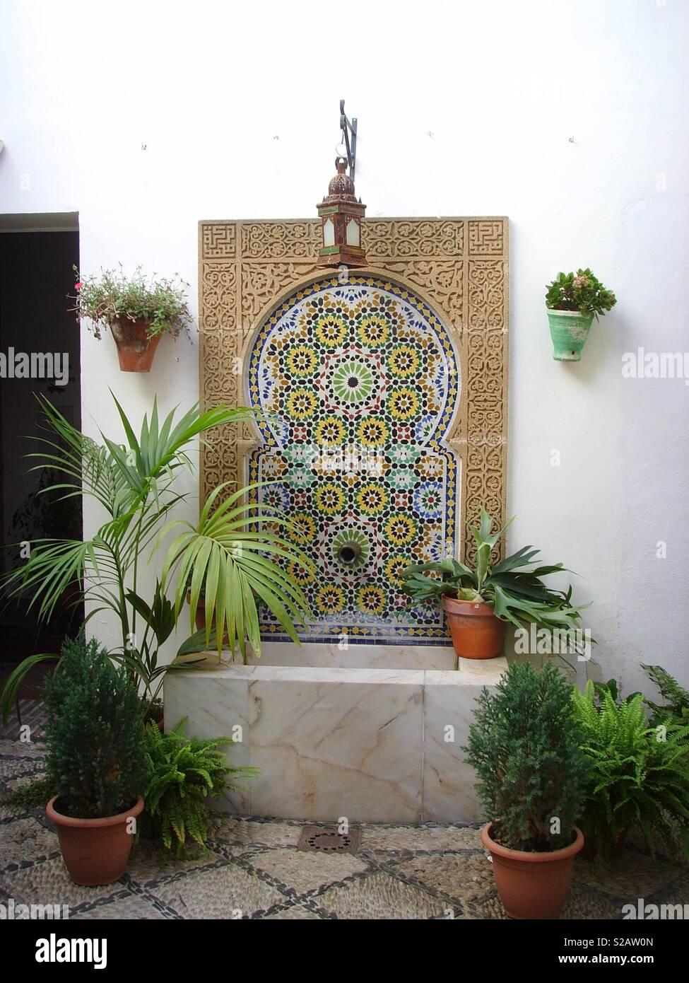 Arte islamica Immagini Stock