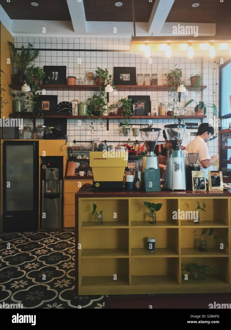 Coffee shop Immagini Stock