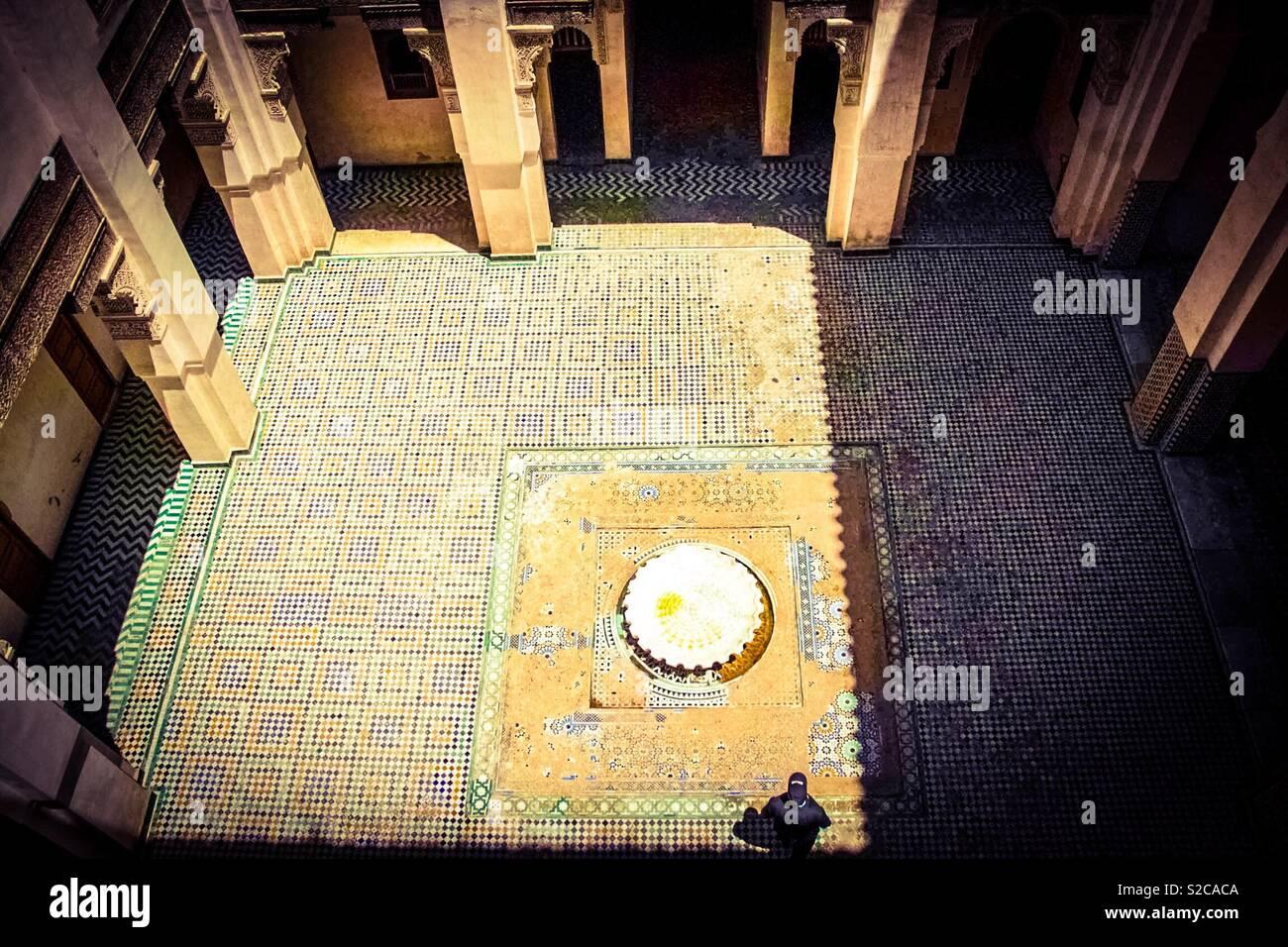 Piastrelle colorate del marocco foto immagine stock