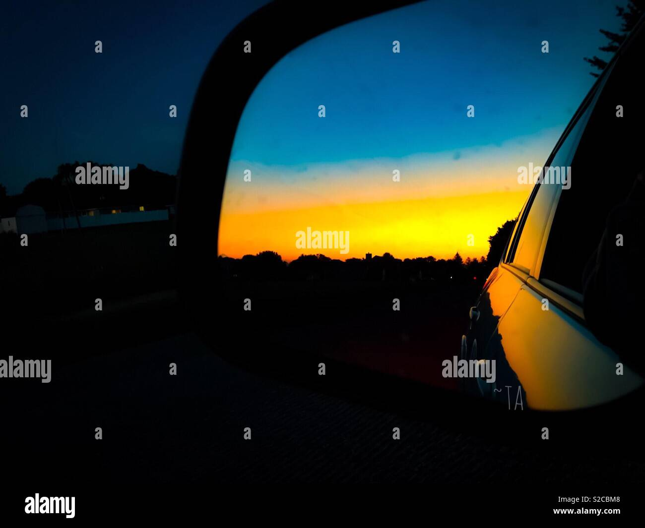 Specchietto Immagini Stock