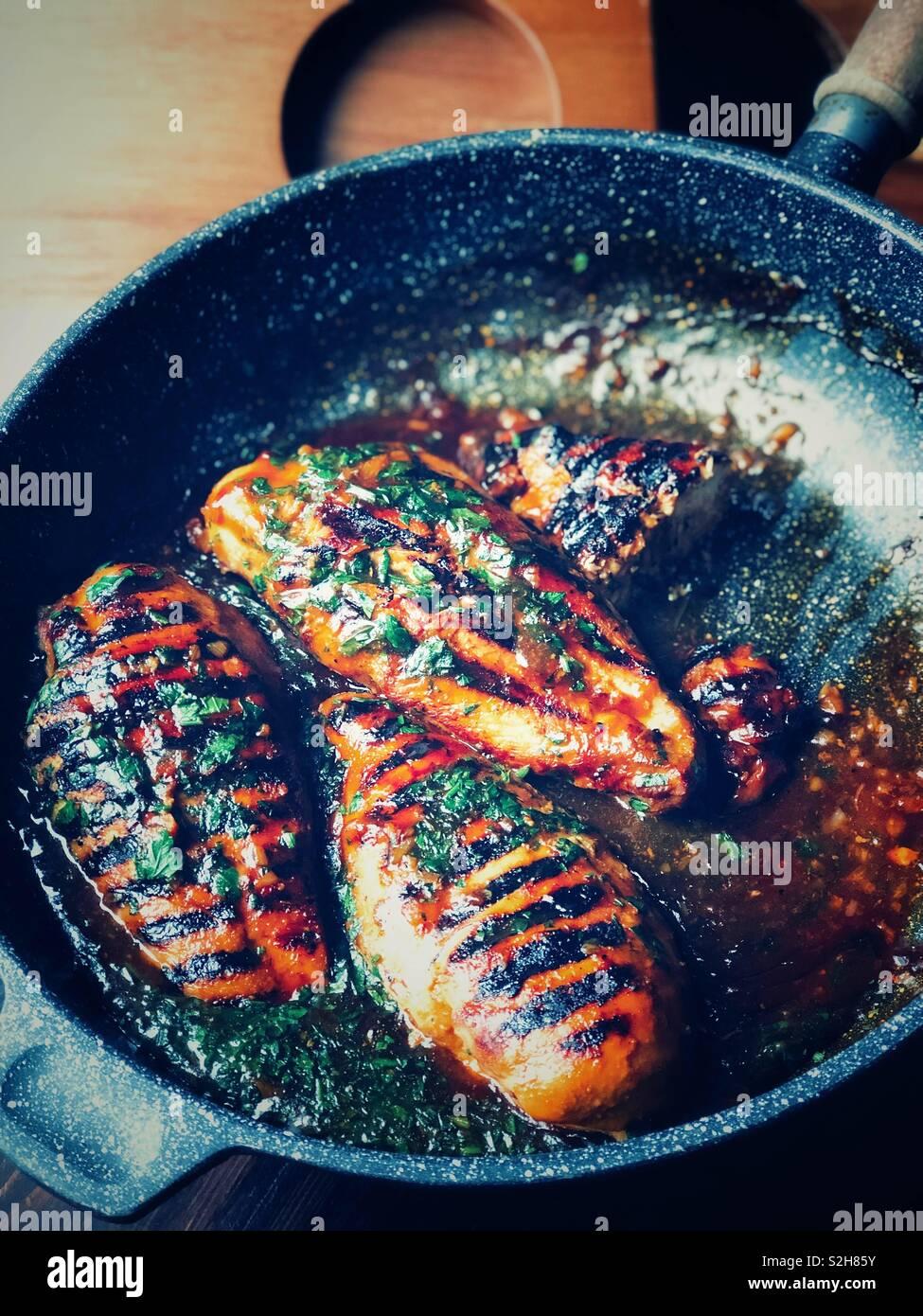 Foto di cibo, cibo fotografia, scelte alimentari, coloranti alimentari Foto Stock