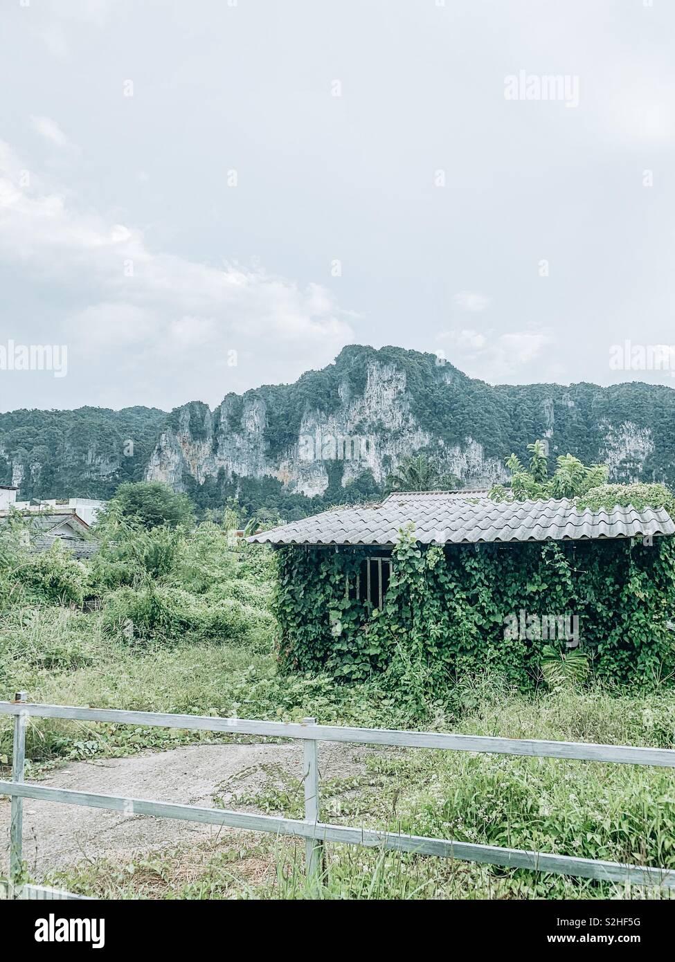 Casa abbandonata Immagini Stock