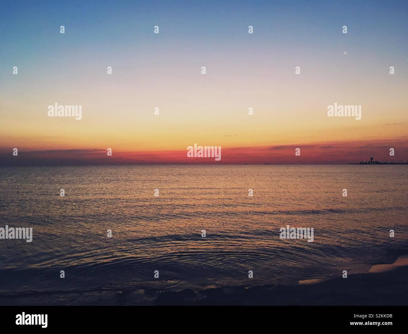 Mar Baltico Foto Stock
