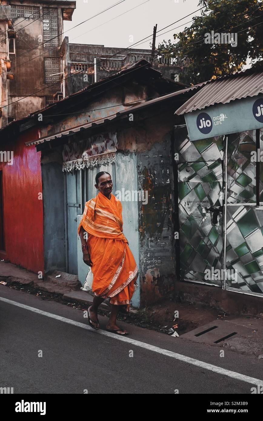 Signora indiana Foto Stock