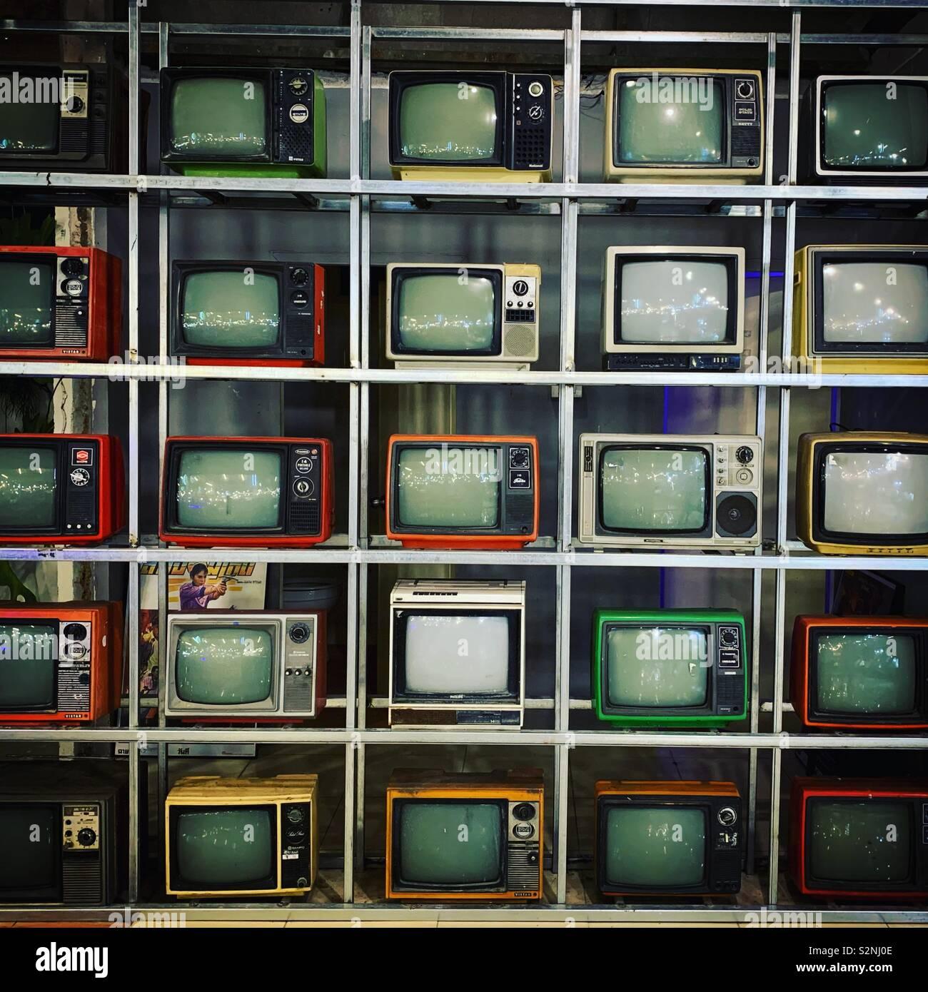 TV Foto Stock