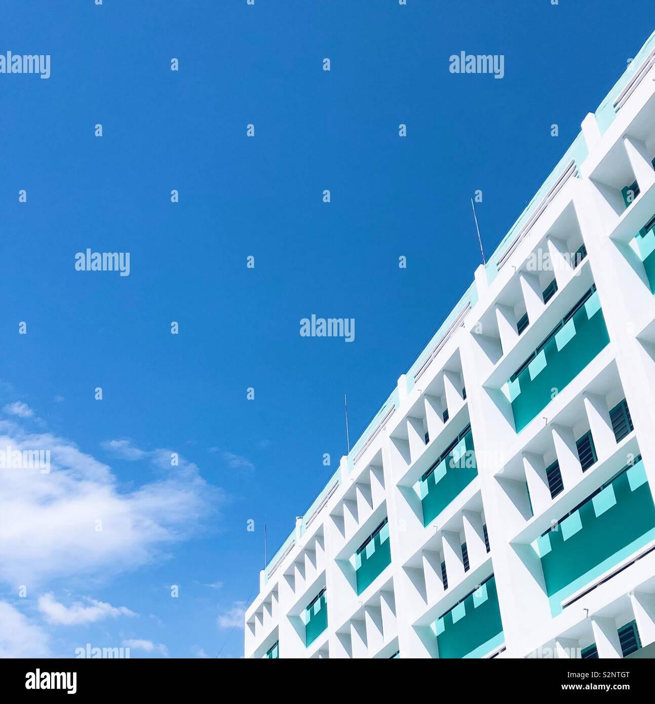 Cielo blu Foto Stock