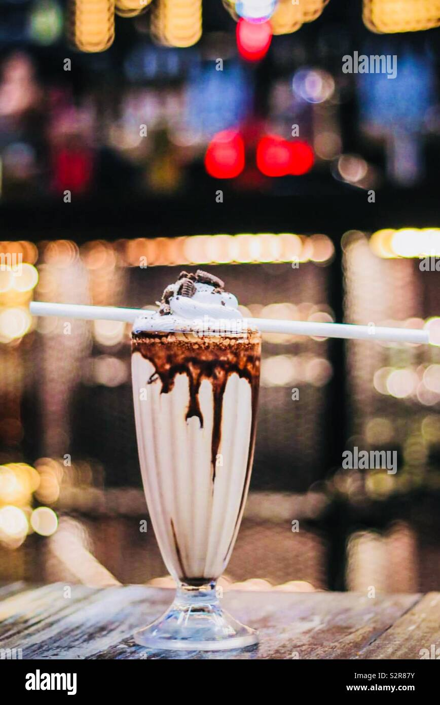 Amore per le bevande ❤️ Foto Stock