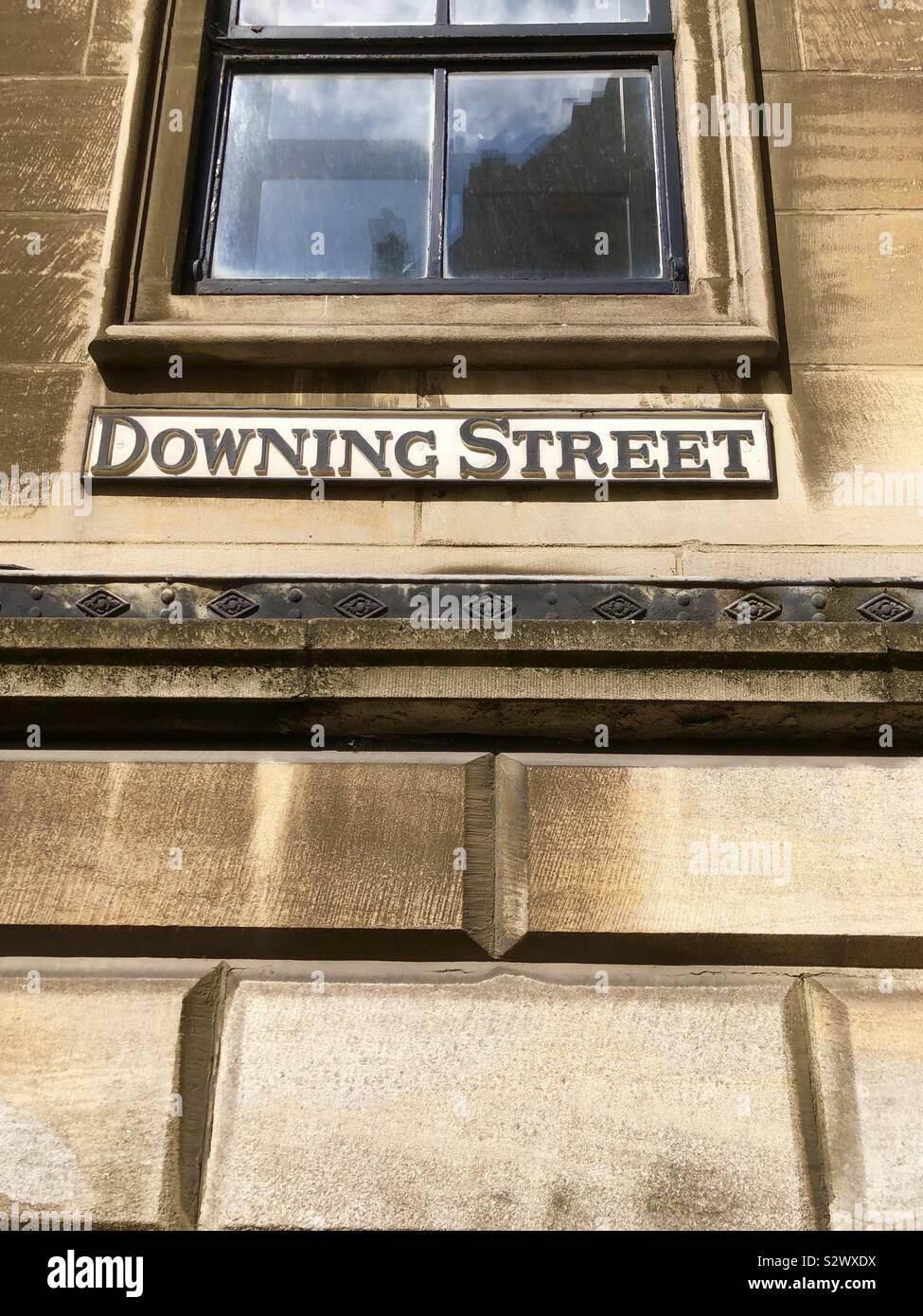 A Downing Street, Cambridge Foto Stock