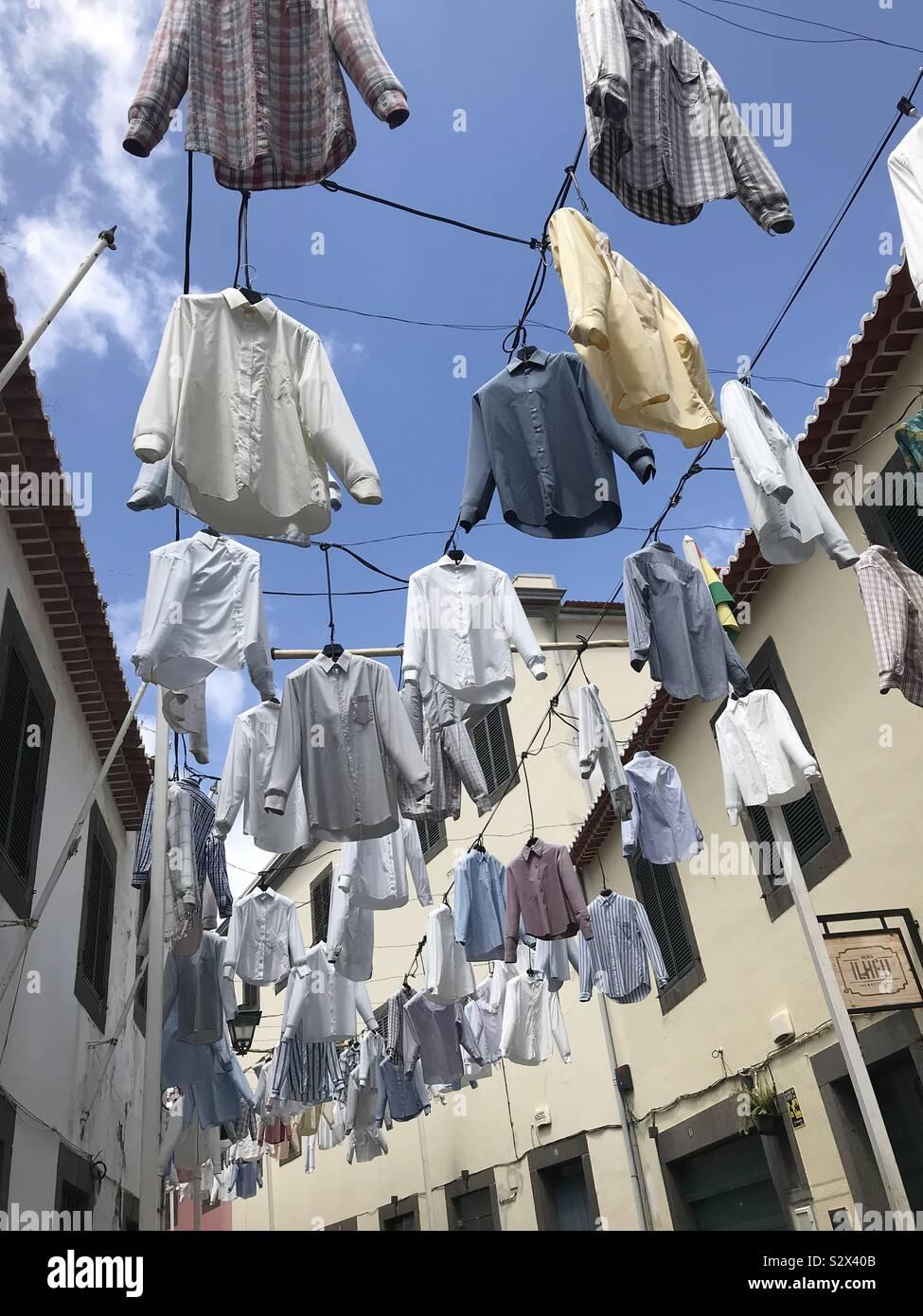 Giorno di lavaggio, fotocamera de Lobos Foto Stock