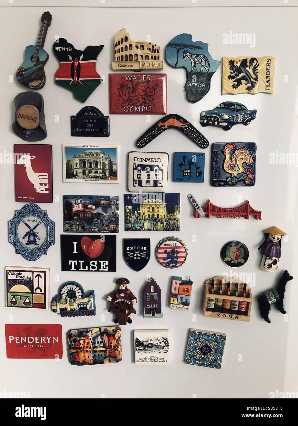 colore: nero con magnete Souvenirs-New York calamite motivo: New York NY Magnet Calamite per frigorifero I Love New York