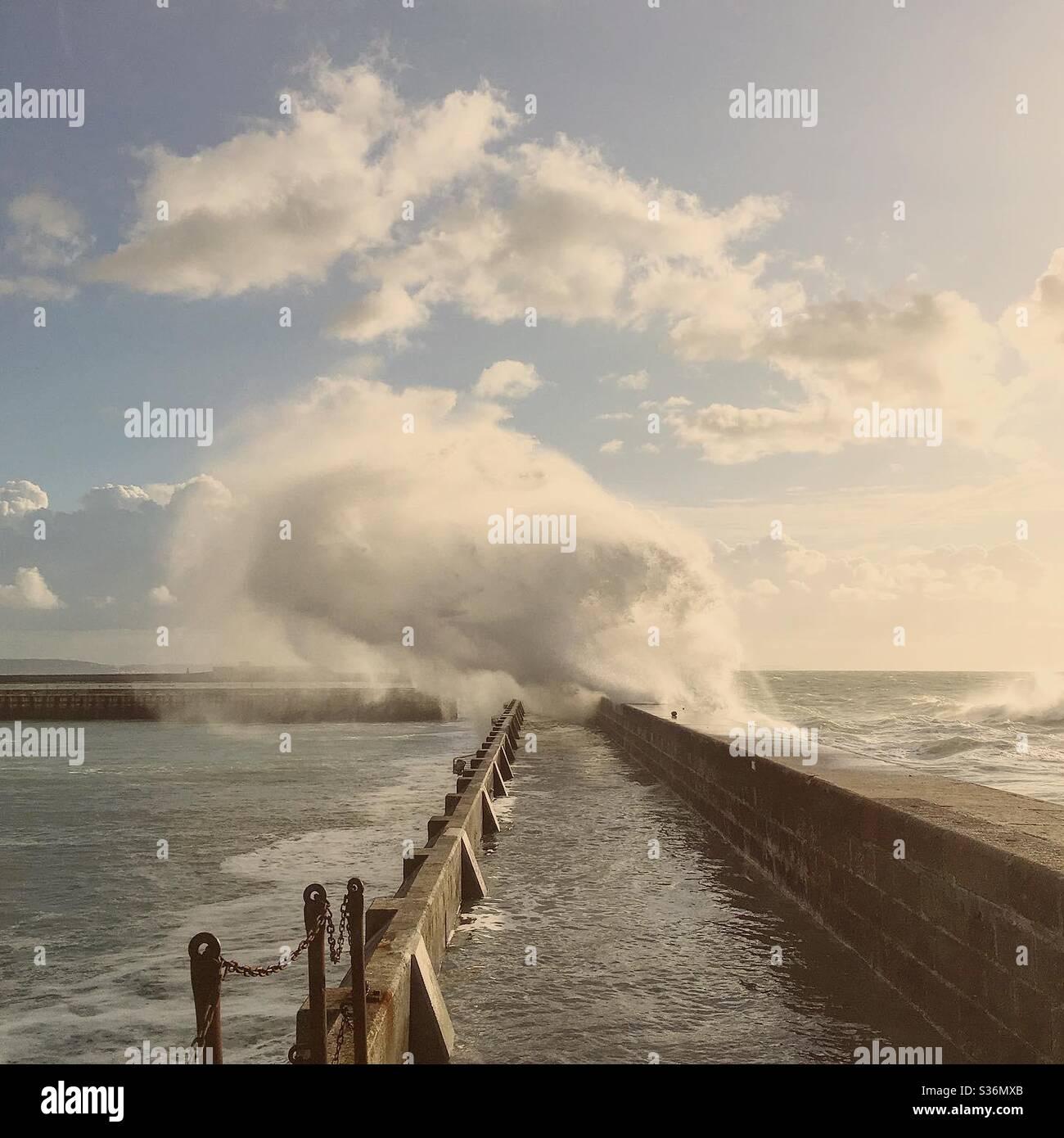 Pier Foto Stock