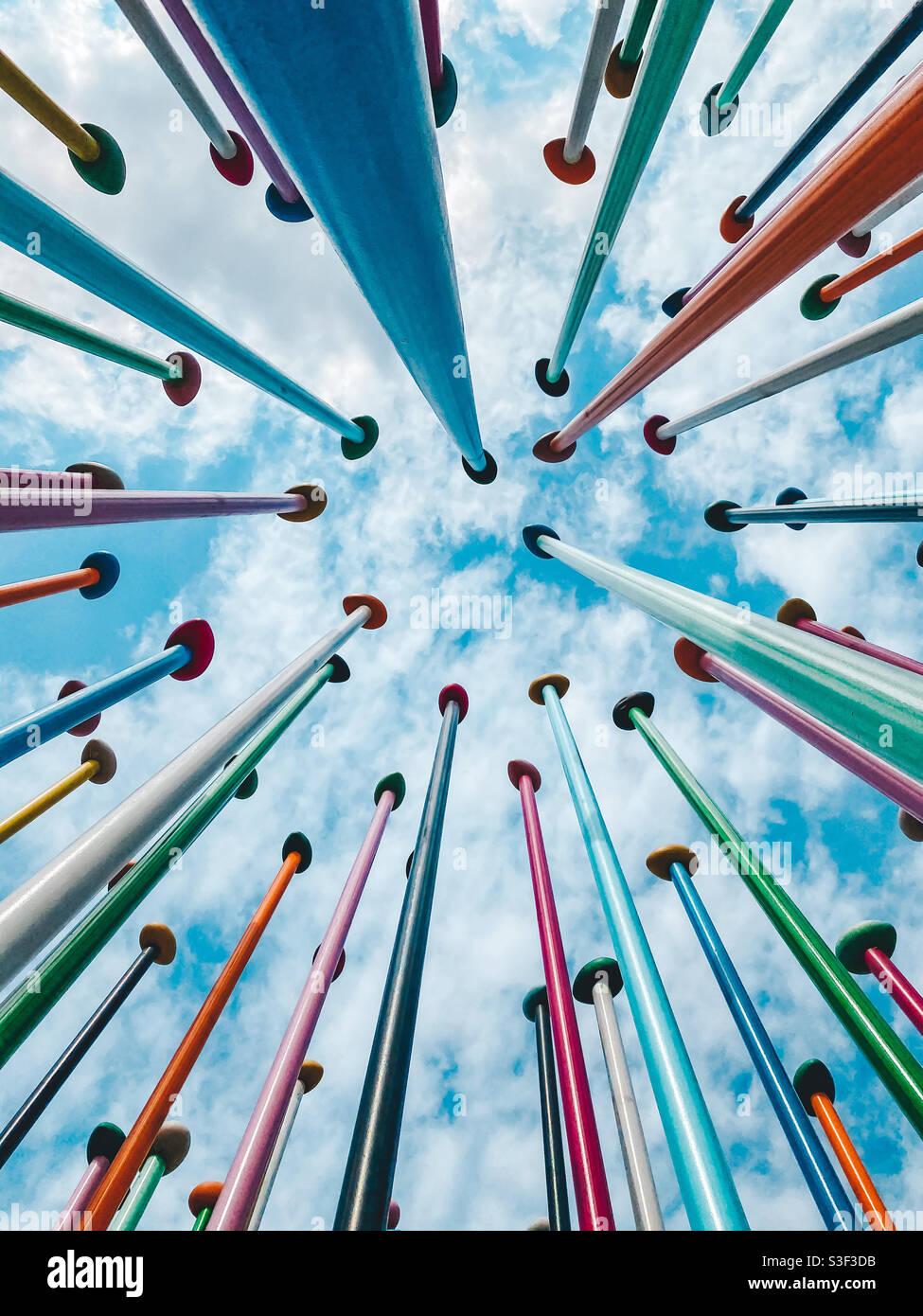 Linea COLORIS Art Milano - Milano Colors Foto Stock