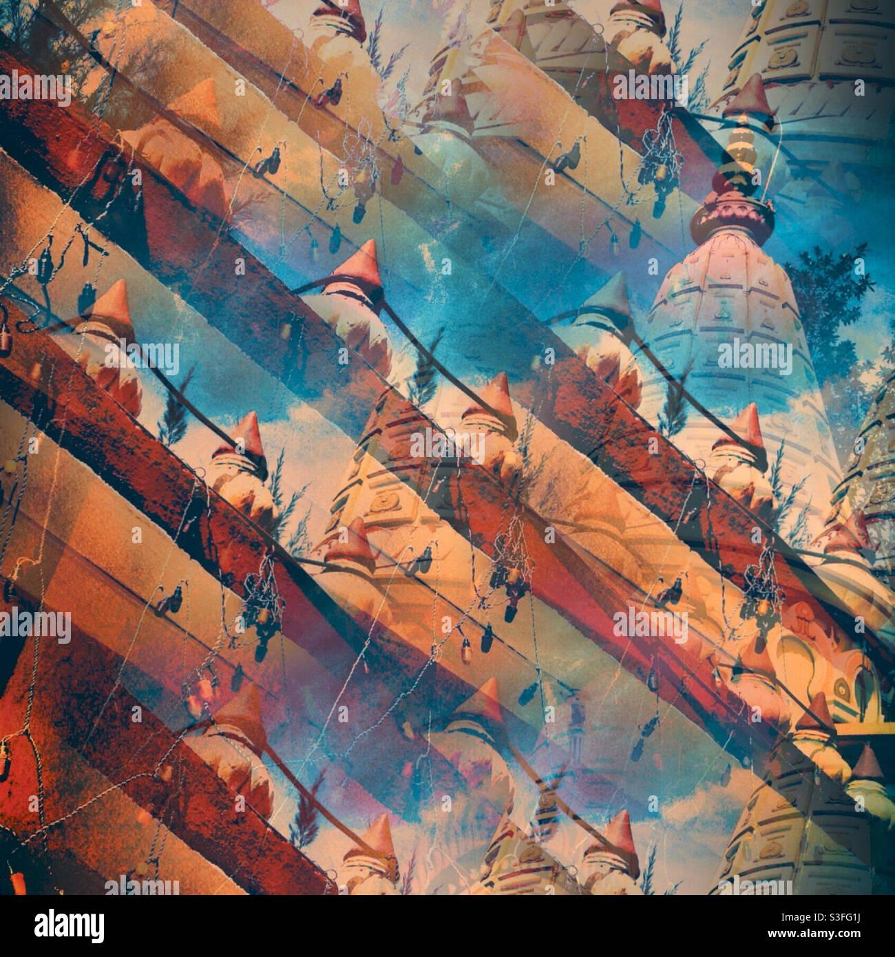 Tempio indiano Foto Stock