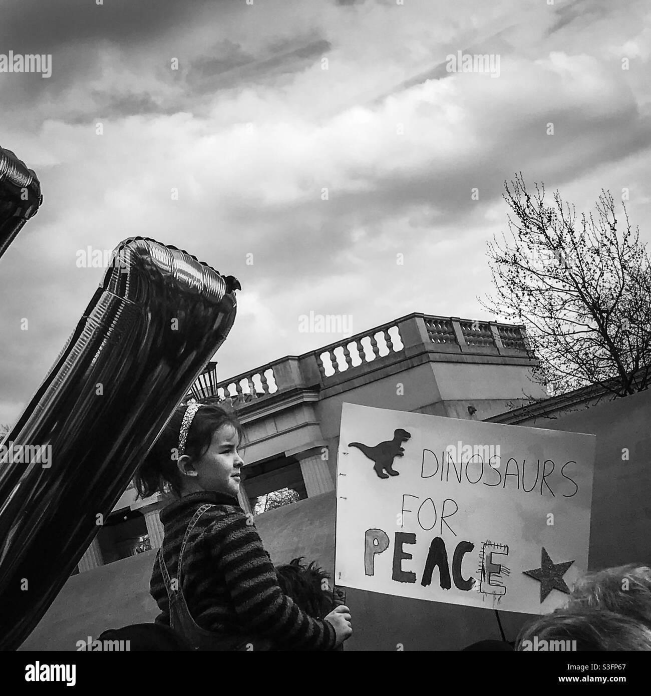 Brexit marzo, Londra, 2019 Foto Stock