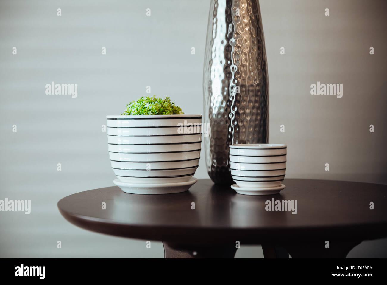 Interior design mobili di accento con un transitorio, stile minimalista. Immagini Stock