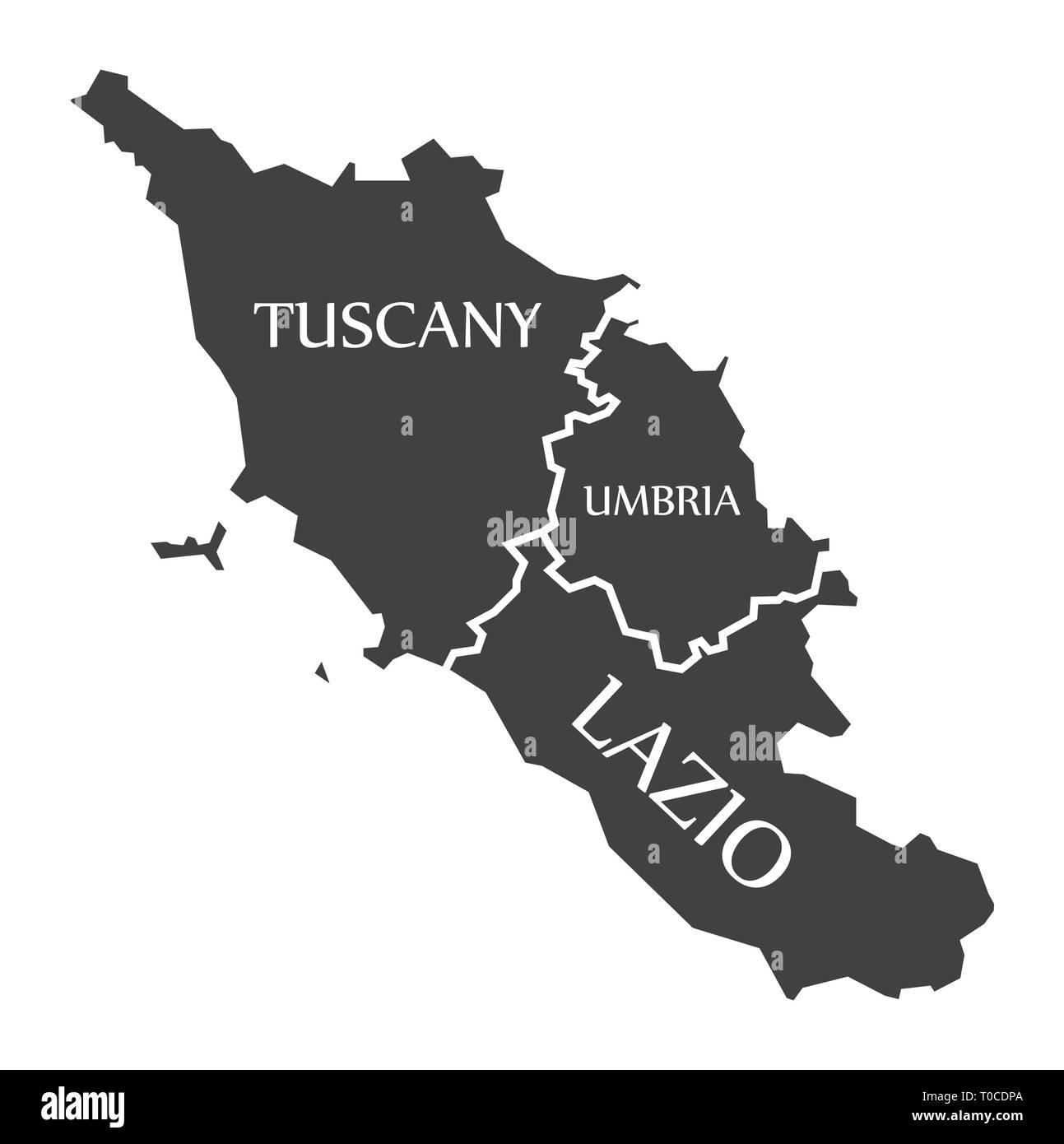 Toscana Umbria Cartina.Vettori Vettoriali Umbria Immagini E Fotos Stock Alamy