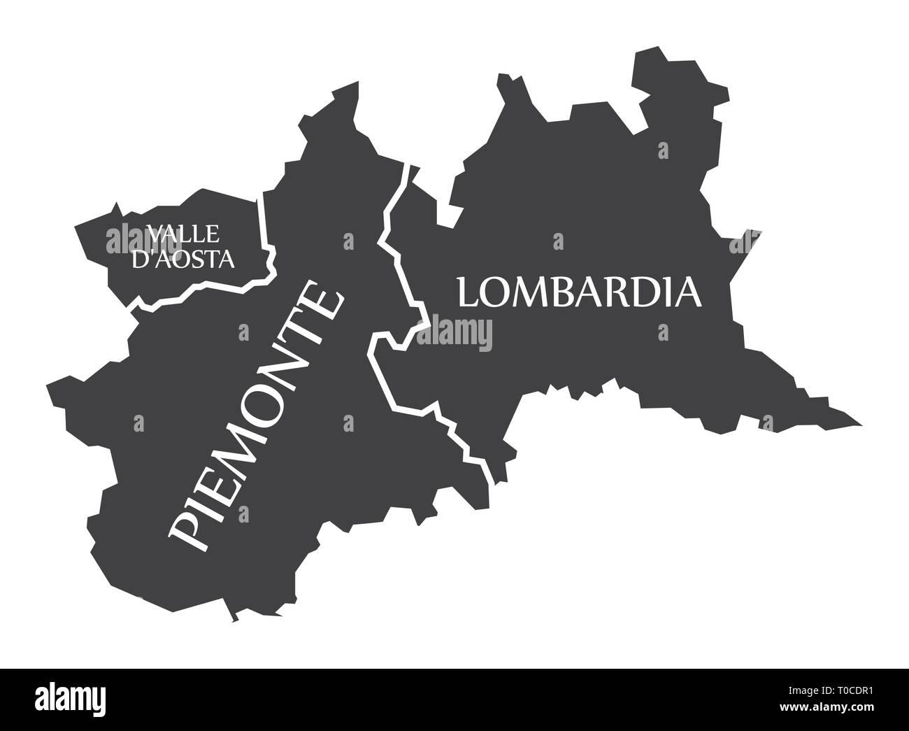 Regione Lombardia Cartina Politica.Lombardia Vector Immagini E Fotos Stock Alamy