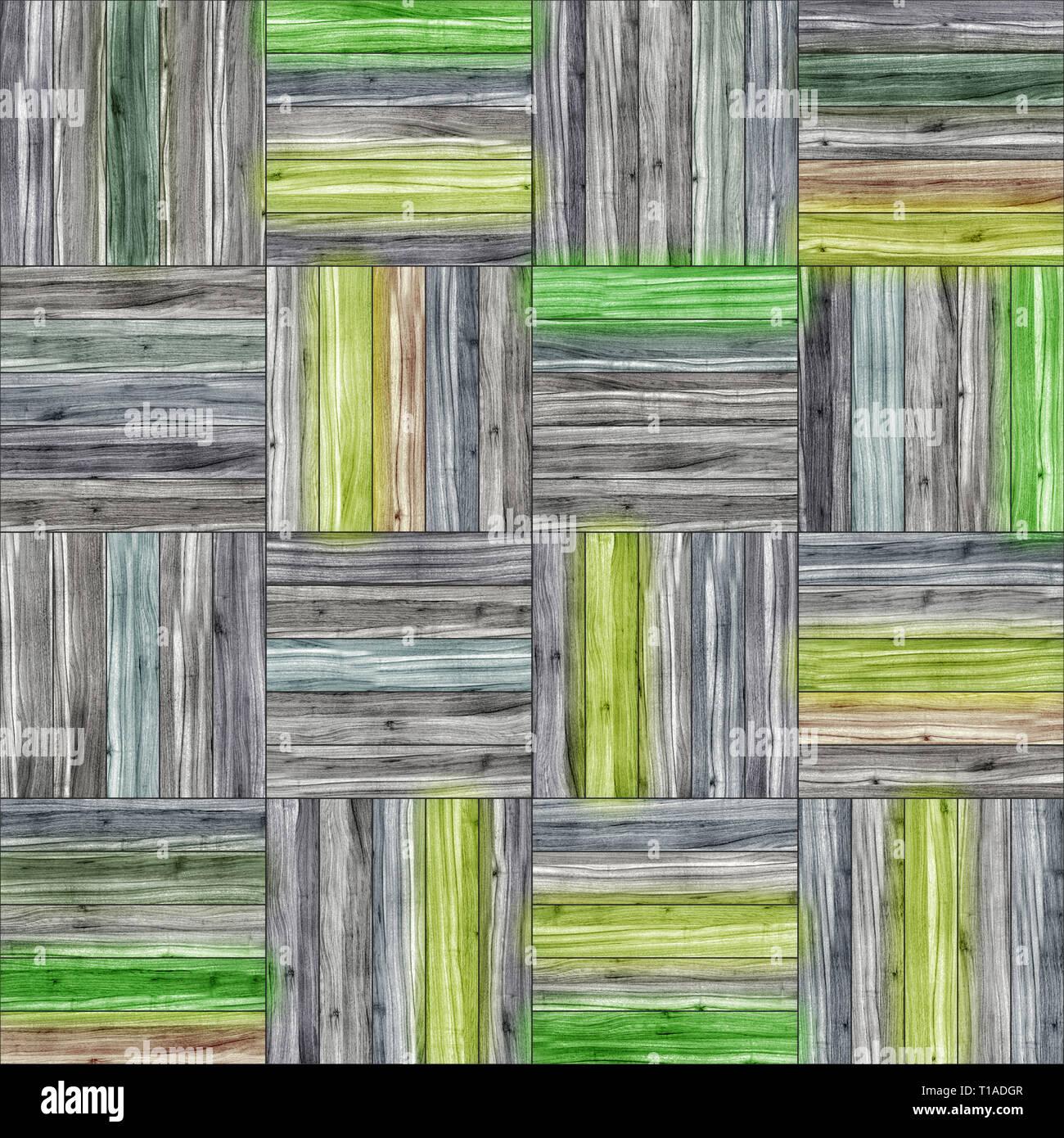 Seamless legno parquet texture (cestello di clip-art) Immagini Stock