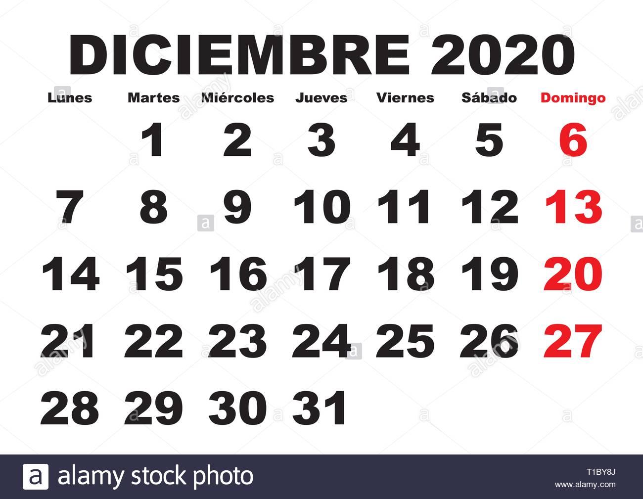 Dicembre Calendario 2020.Calendario 2020 Immagini Calendario 2020 Fotos Stock Alamy