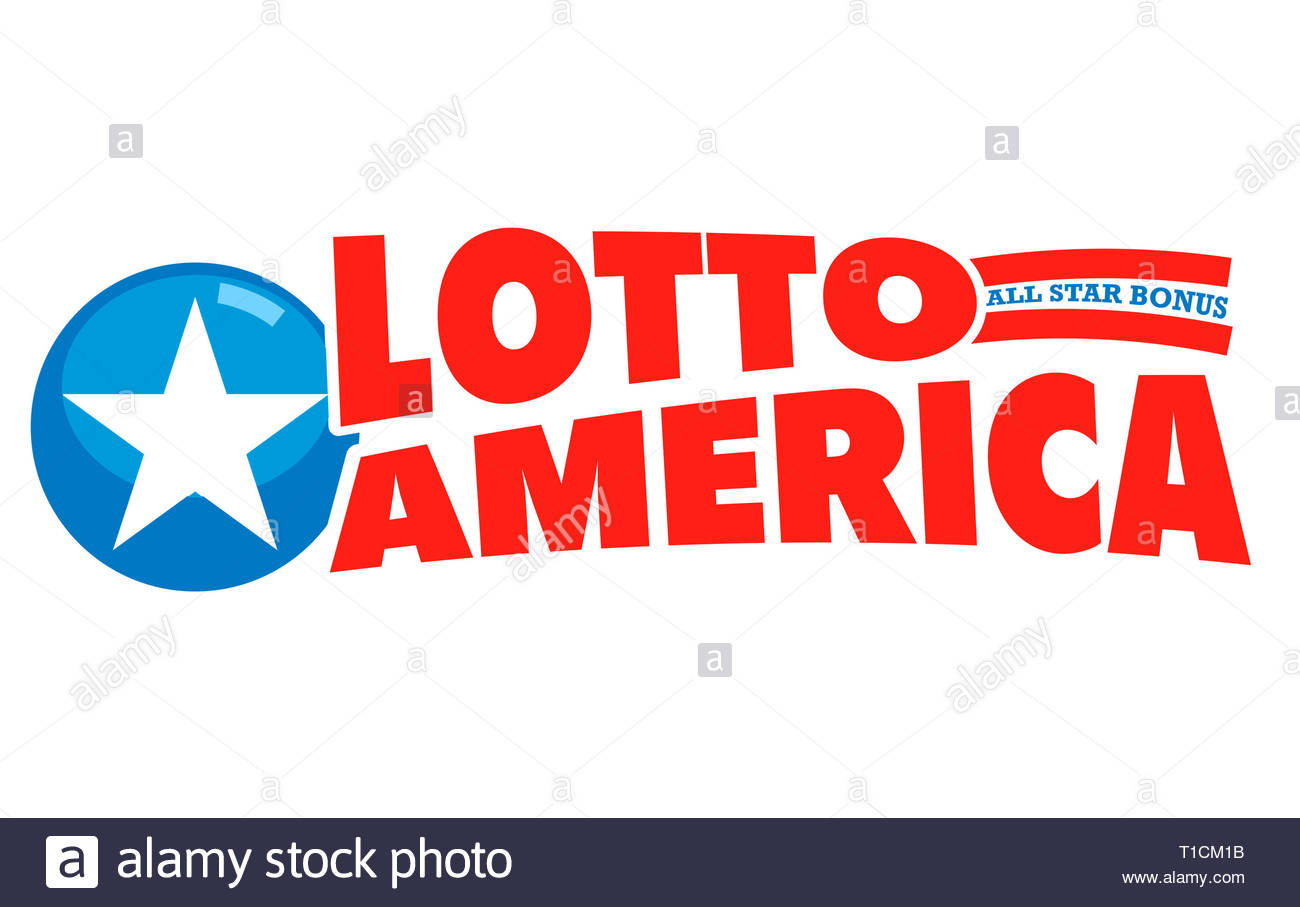 Lotto America icona logo Immagini Stock