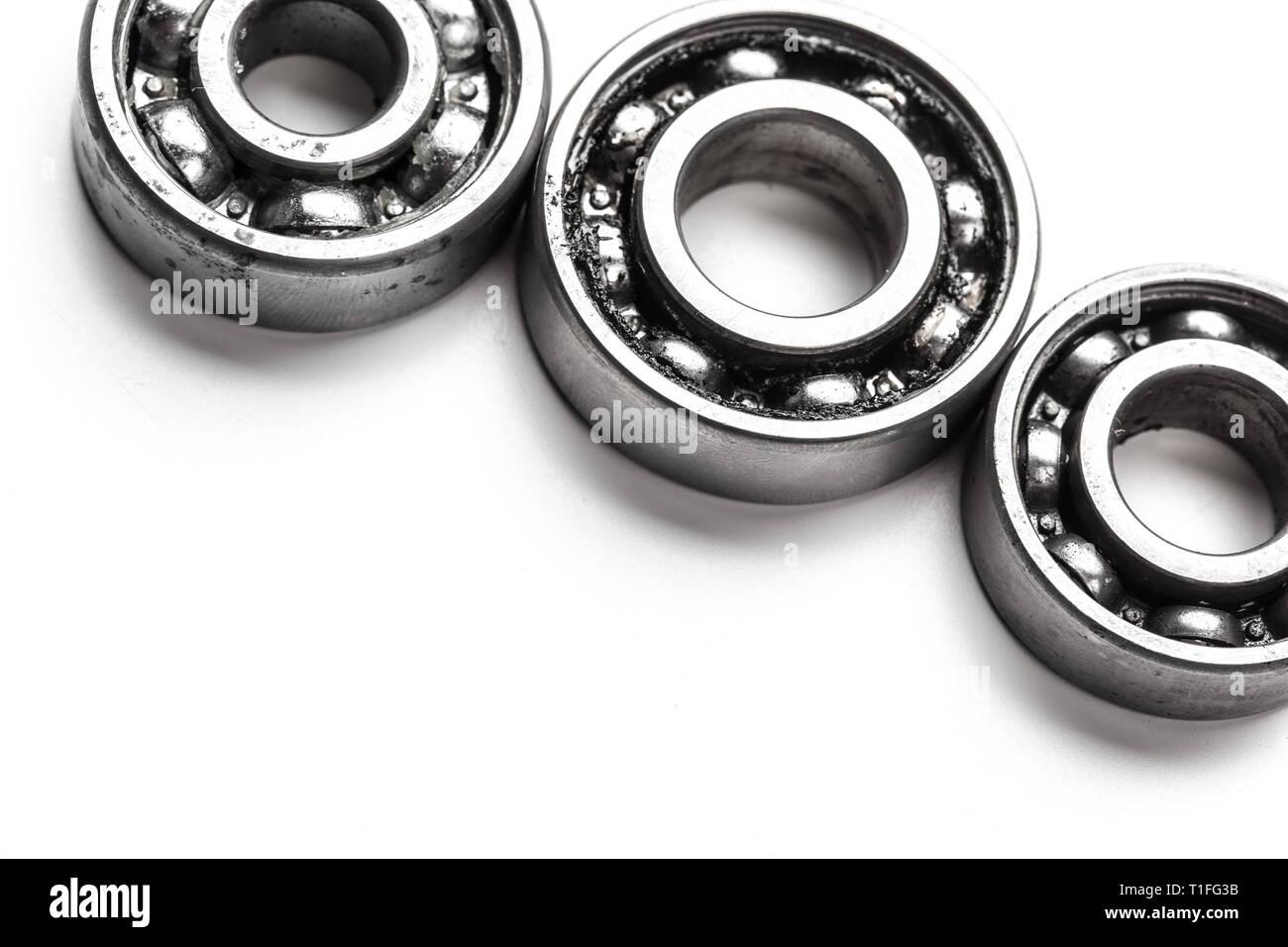 Ruote In Metallo.Ingranaggio Di Ruote Di Metallo Isolato Su Sfondo Bianco