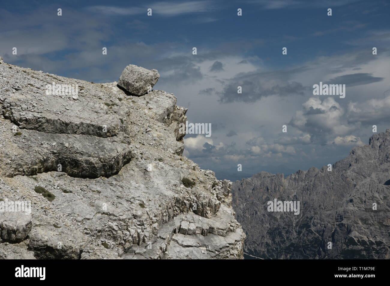 Vista dal Dürrenstein Immagini Stock