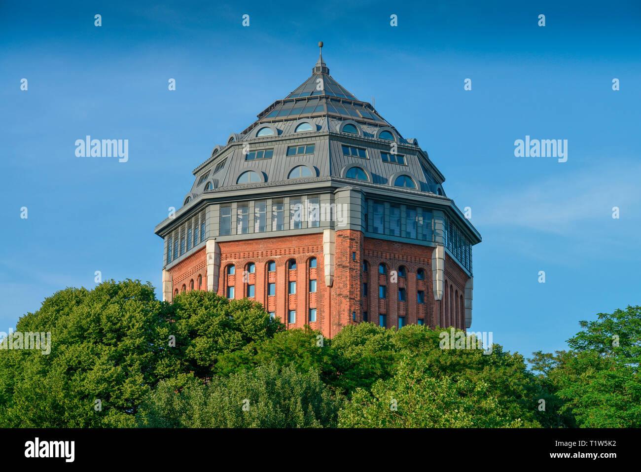 Schanzenturm, Sternschanze, Amburgo, Deutschland Foto Stock