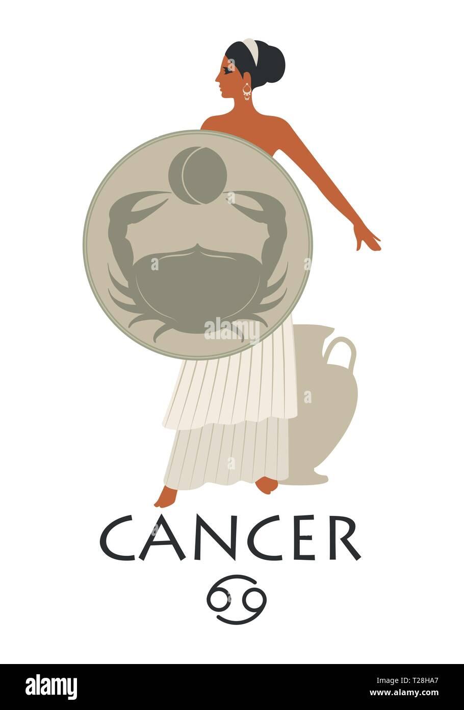 risalente a un uomo cancro Zodiac