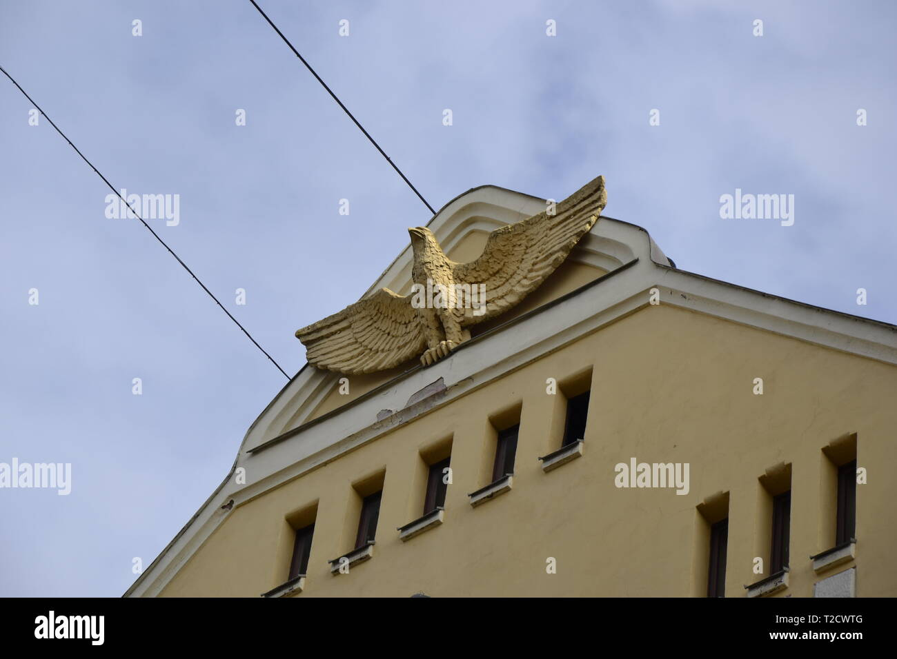 Gatto Nero House Riga Foto Immagine Stock 242458176 Alamy